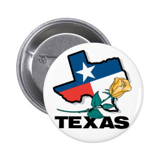 Texas Rose Button