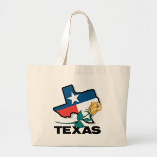 Texas Rose Large Tote Bag