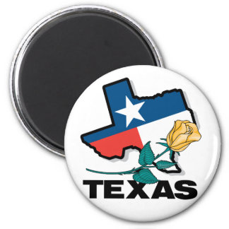 Texas Rose Magnet