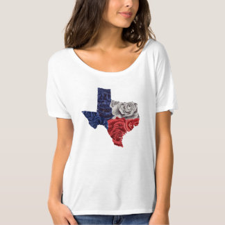 Texas Rose Original Design, Slouchy Tee