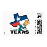 Texas Rose Postage Stamps