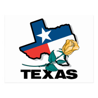Texas Rose Postcard
