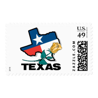 Texas Rose Stamps