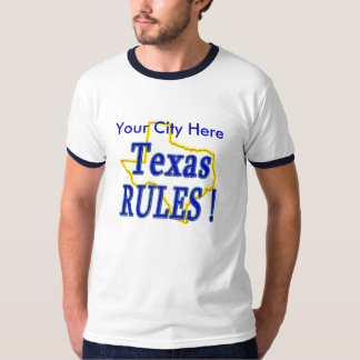 Texas Rules ! Tee Shirt