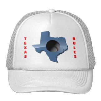 TEXAS RULES TRUCKER HAT