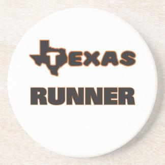 Texas Runner Beverage Coaster
