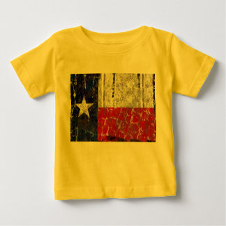 Texas Rusted Lone Star State Flag Baby T-Shirt