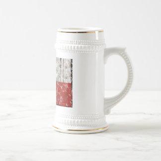 Texas Rusted Lone Star State Flag Coffee Mugs