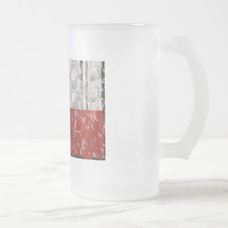 Texas Rusted Lone Star State Flag Mugs