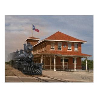 TEXAS - San Angelo Train Station Postcard