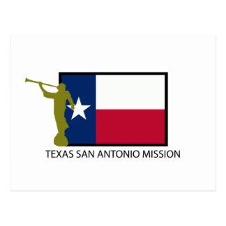 TEXAS SAN ANTONIO MISSION LDS CTR POSTCARD