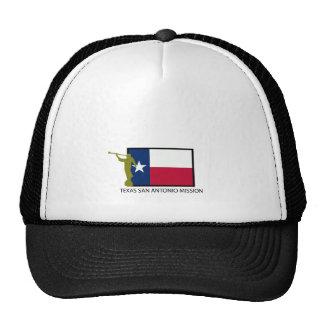 TEXAS SAN ANTONIO MISSION LDS CTR TRUCKER HAT
