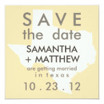Texas Save the Date Cards Personalized Announcements