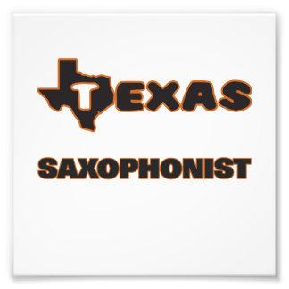 Texas Saxophonist Photo Print