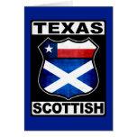 Texas Scottish American Card