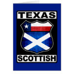 Texas Scottish American Greeting Cards