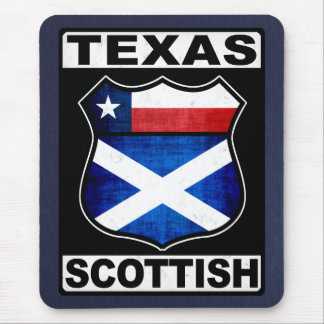 Texas Scottish American Mouse Pad
