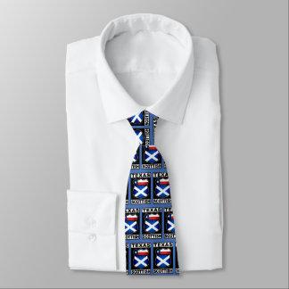 Texas Scottish American Tie