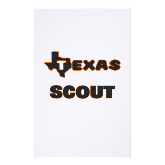 Texas Scout Stationery