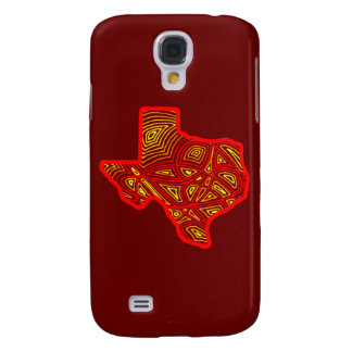 Texas Scribbleprint Galaxy S4 Case