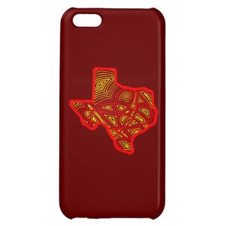 Texas Scribbleprint iPhone 5C Cases