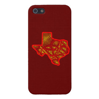 Texas Scribbleprint Case For iPhone 5