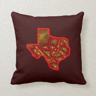 Texas Scribbleprint Throw Pillows