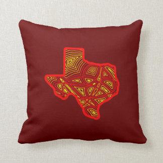 Texas Scribbleprint Pillows