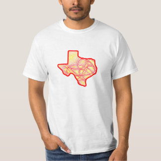 Texas Scribbleprint T-Shirt