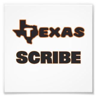 Texas Scribe Photo Print