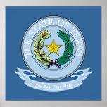 Texas Seal Poster