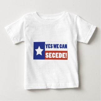 Texas Secede Baby T-Shirt