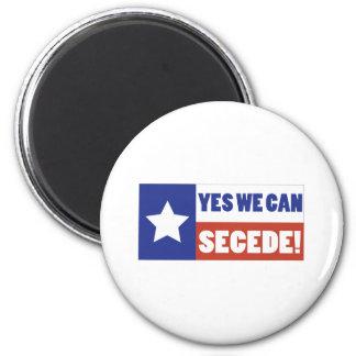 Texas Secede Magnet