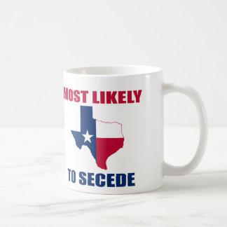 Texas Secession Mugs