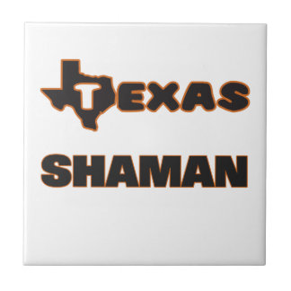 Texas Shaman Small Square Tile
