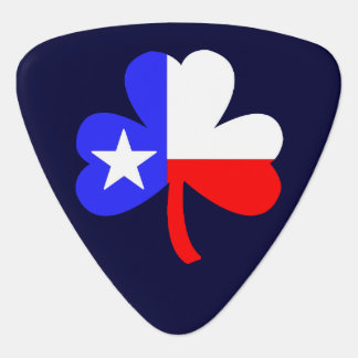 Texas Shamrock Guitar Pick