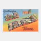 Texas, Sheet of 4 San Antonio stickers