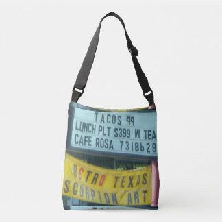 Texas Signs: Scorpion Art Crossbody Bag