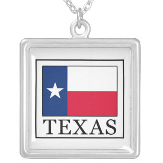 Texas Silver Plated Necklace