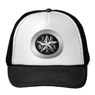 TEXAS SILVER STAR TRUCKER HAT