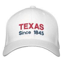 Texas Since 1845 Cap