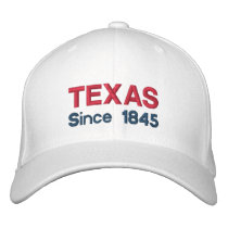Texas Since 1845 Cap