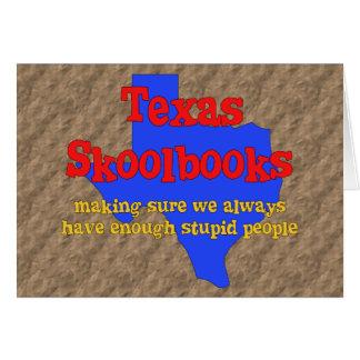 Texas Skoolbooks Card