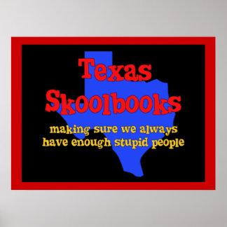 Texas Skoolbooks Posters