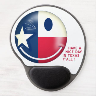 TEXAS SMILEY WINK GEL MOUSE PAD