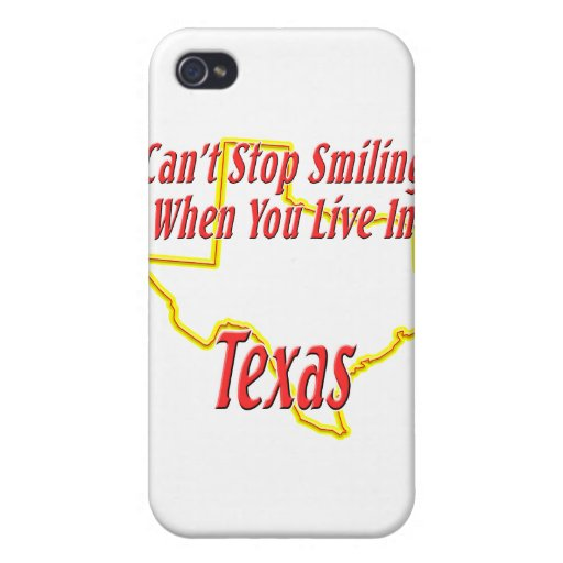 Texas - Smiling iPhone 4/4S Cases