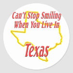 Texas - Smiling Sticker