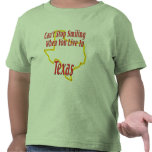 Texas - Smiling T Shirt