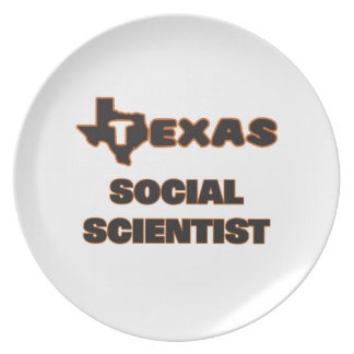Texas Social Scientist Plate