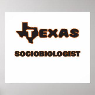 Texas Sociobiologist Poster